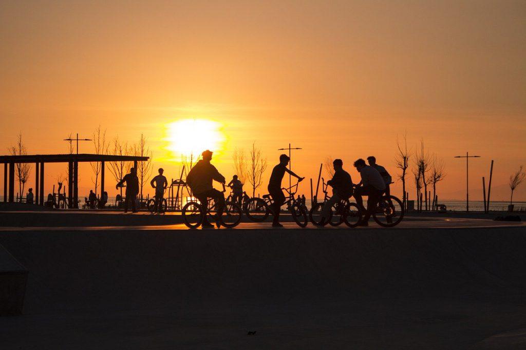 bicycle, children, bike