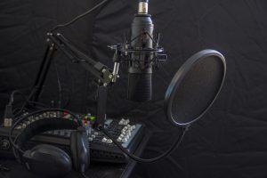 microphone, headphone, headset